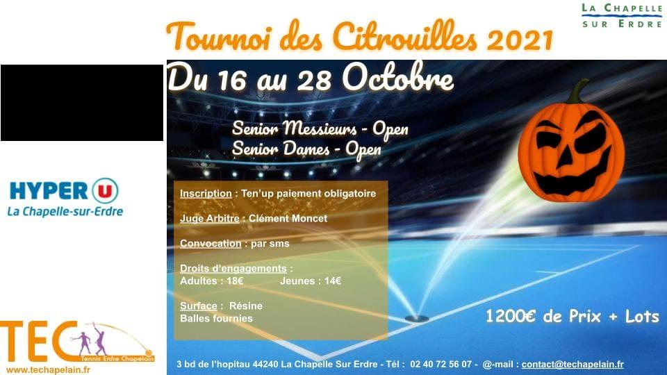 2021 Affiche Tournoi des citrouilles